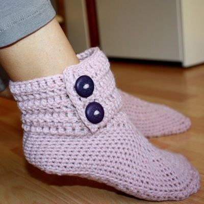 Ladies Ankle Boots By Mon Petit Violin Designs Pattern Crochet