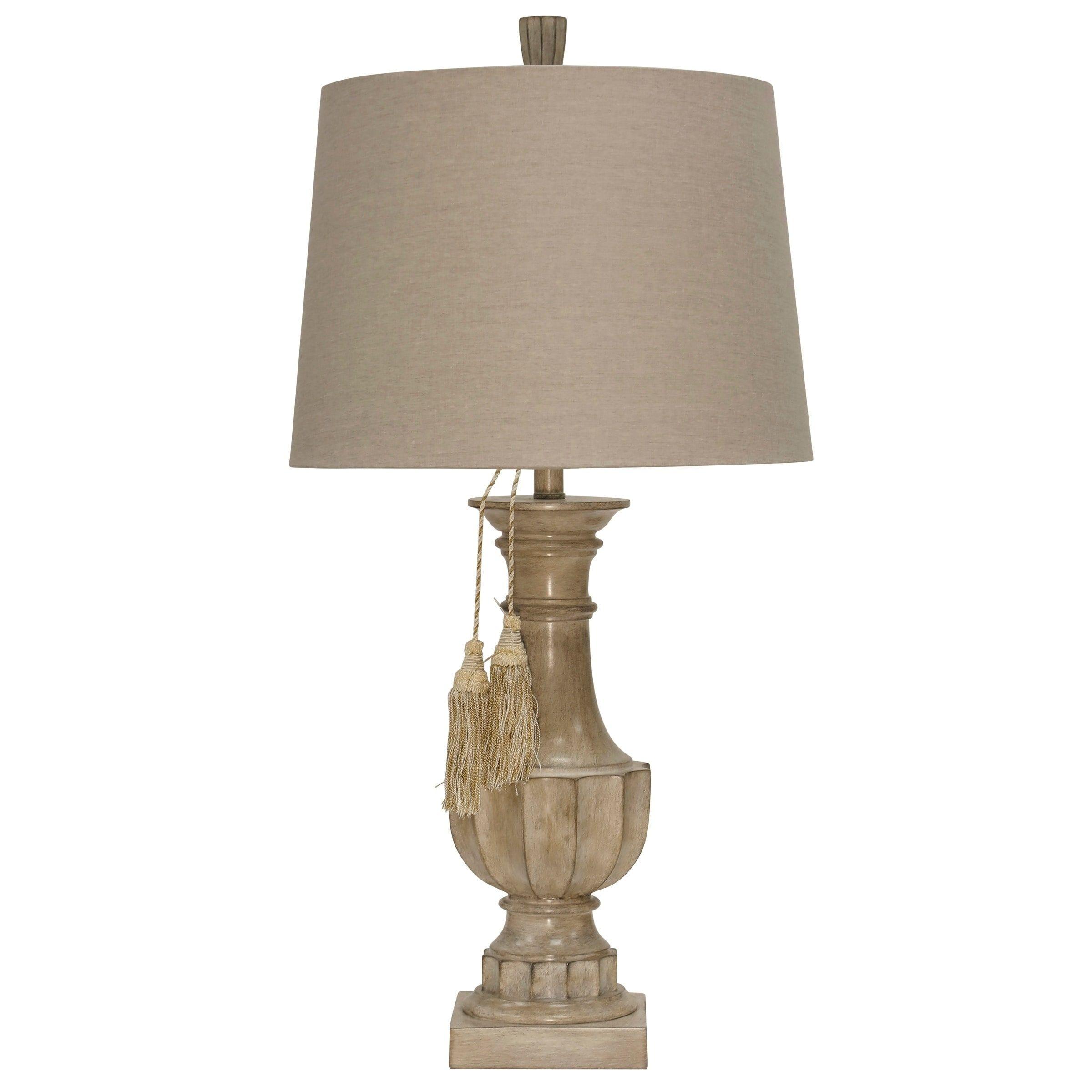 Bokava Beige Table Lamp Beige Shade In 2019 Beige Table Lamps