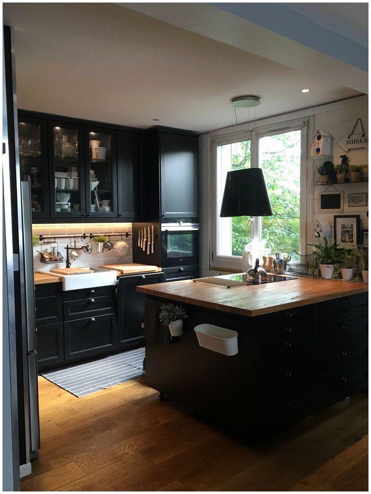 Epingle Par Annny Ga Sur Casa Cuisine Ikea Noire Cuisine Ikea Et Idee Couleur Cuisine