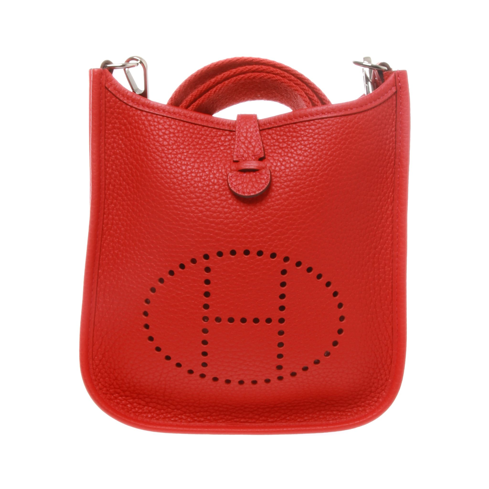A most wanted Hermes Evelyne 16 Amazone Taurillon Clemence. The eye  catching Rose azare of the Amazon of smallest size