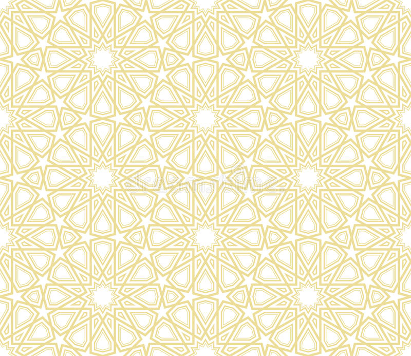 Islamic Star Pattern Background Vector Illustration Background