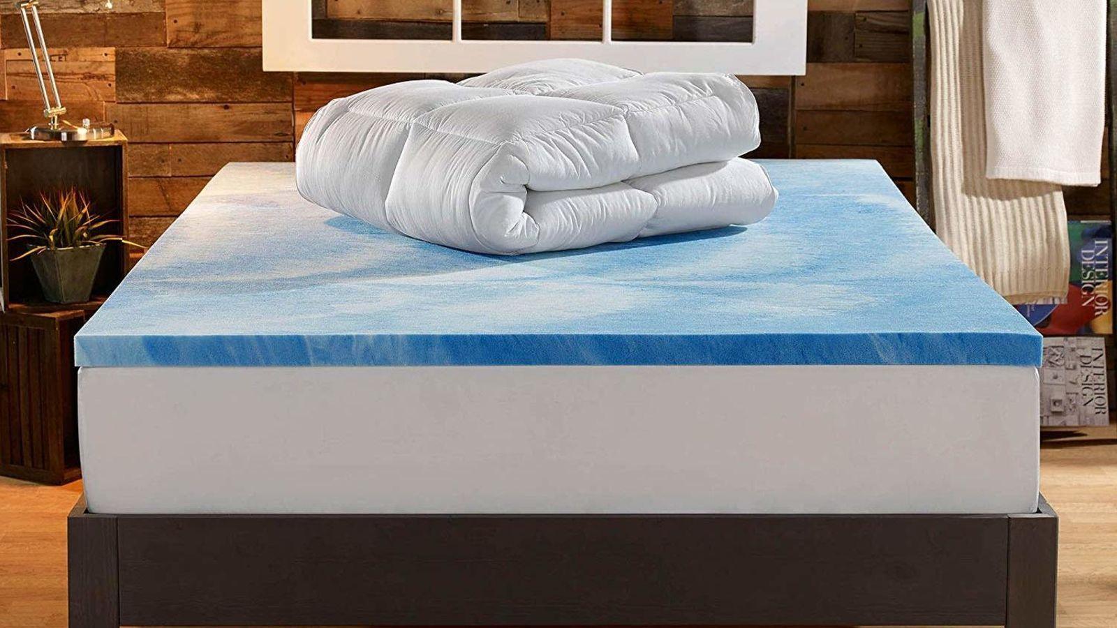 You Ll Sleep Like A Baby When You Buy A Mattress Topper For 20 Off Memory Foam Mattress Topper Mattress Foam Mattress Topper