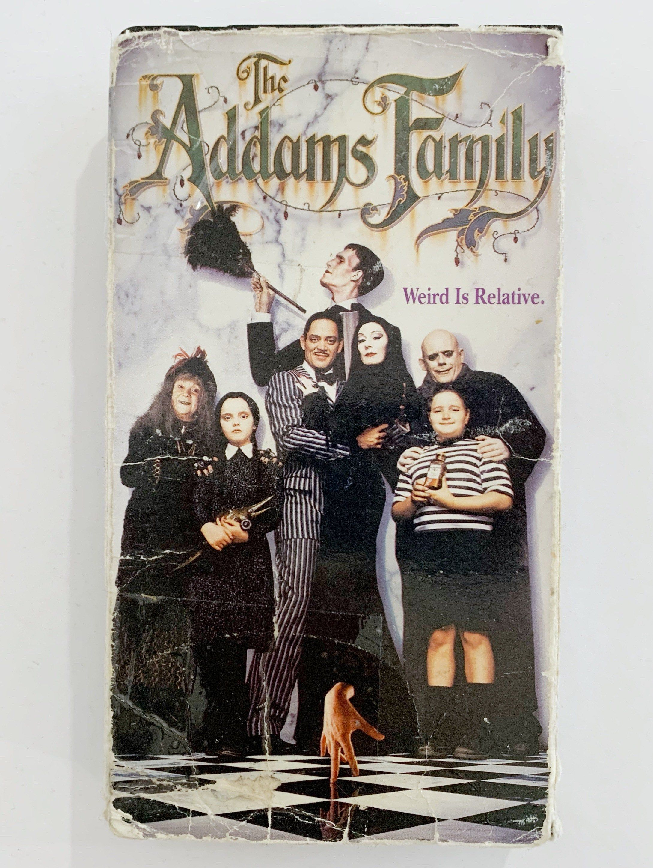 VTG 90's The Adams Family VHS Tape McDonalds Promotional Movie Release Vintage 1990's