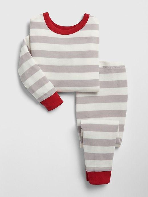 d4be74e08 Gap Baby Stripe Pj Set Milk