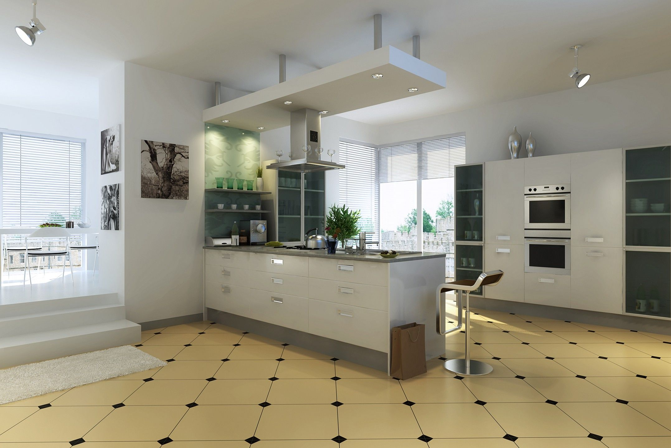 Kitchen Design Oren Indian L Shaped Blue Kitchen Price Quotes On