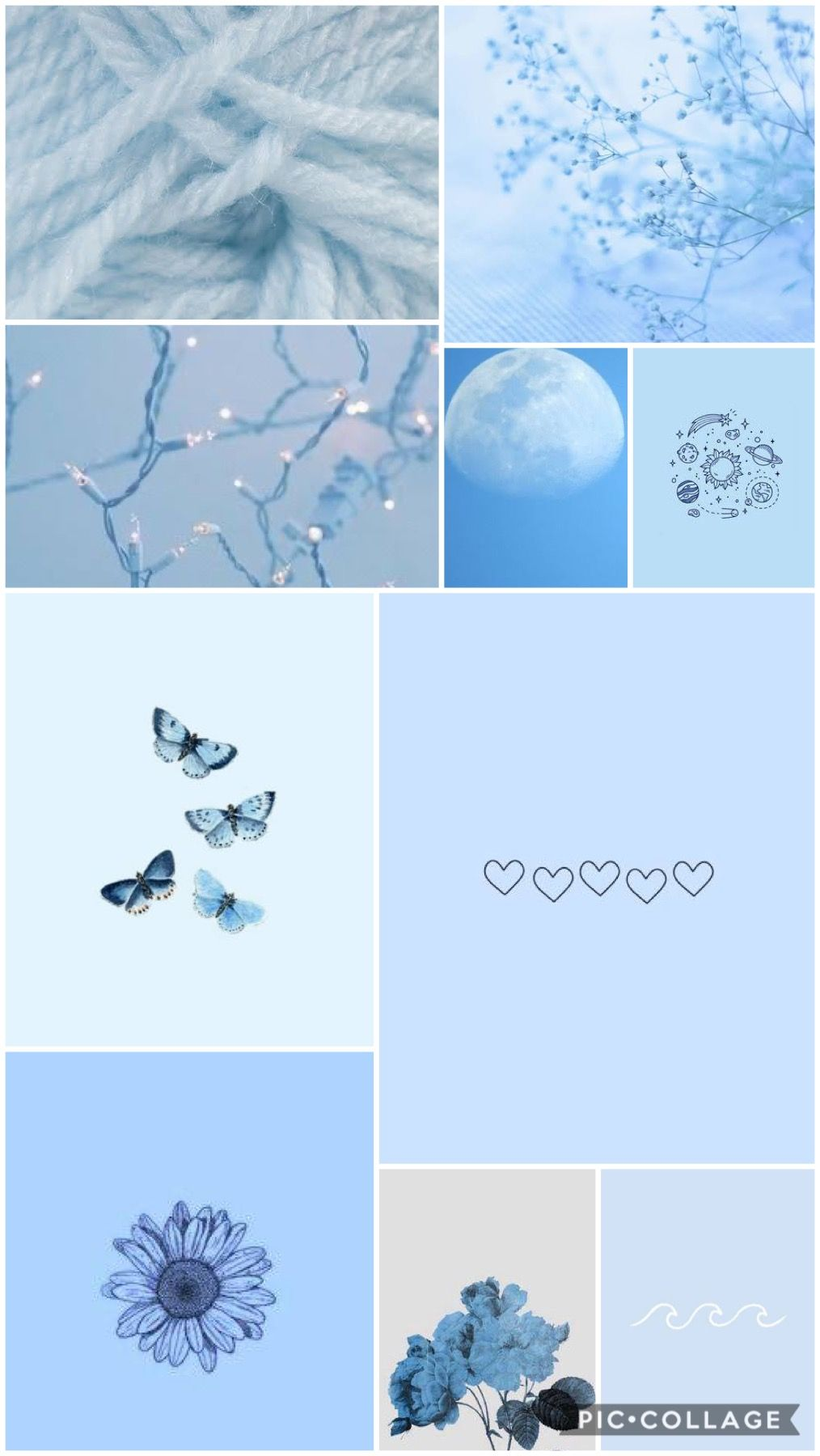 Baby Blue Aesthetic Wallpaper Baby Blue Aesthetic Baby Blue Wallpaper Blue Flower Wallpaper