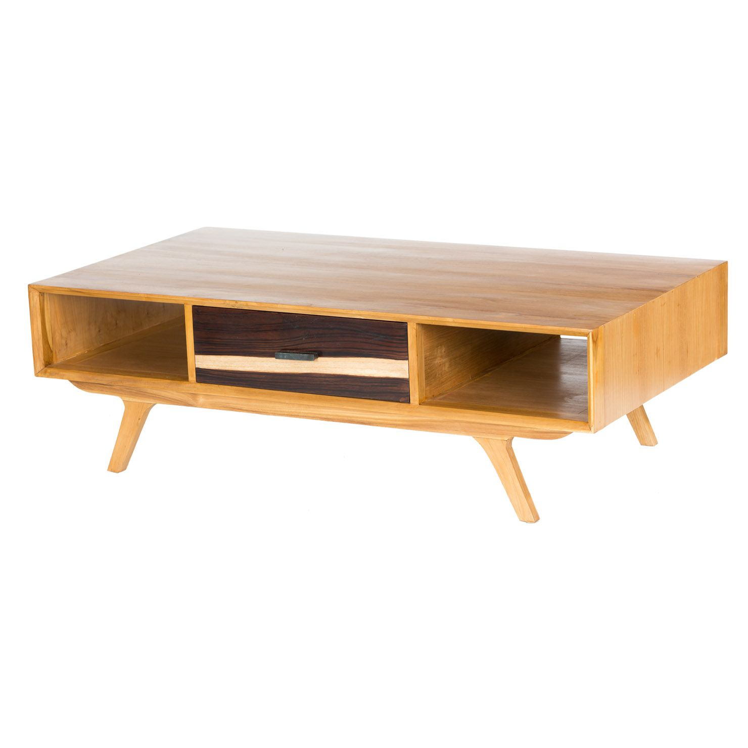 Two Tone Mid Century Coffee Table