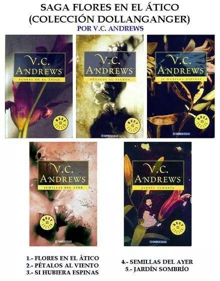 Saga Flores En El Atico Flores En El Atico Libros De Lectura Libros De Percy Jackson