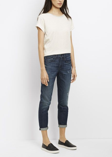 Mason Relaxed Rolled Jean | Vince