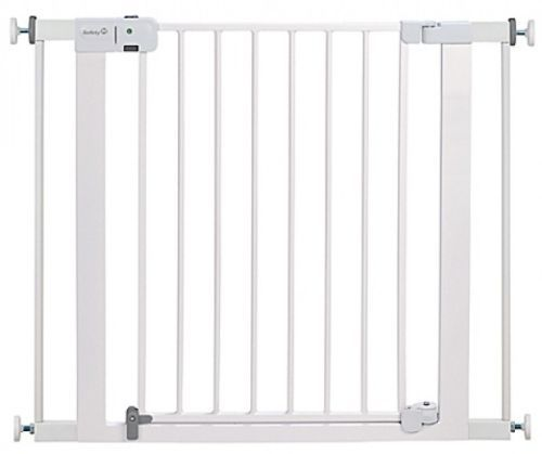 Safety 1st Child Or Pet Indoor Security Safety Gate Fence In White