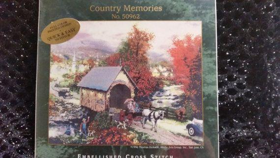 Thomas Kinkade 'Country Memories' by SecretAtticEmporium on Etsy