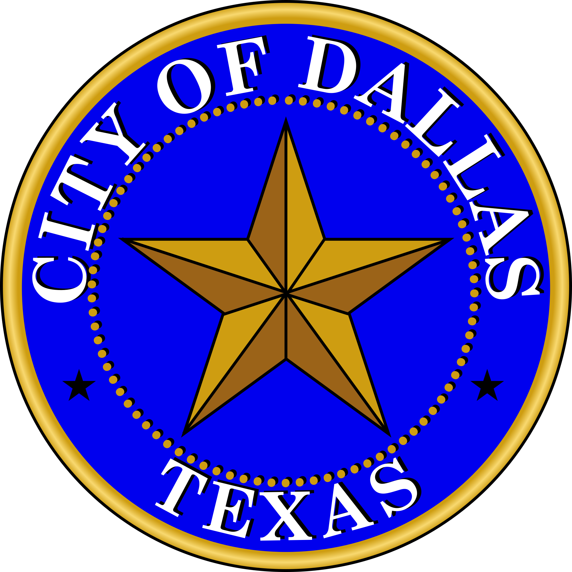 Official seal of Dallas, Texas