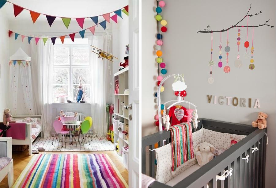 Chambre A Coucher Enfant : déco lumineuse chambre bebe ...