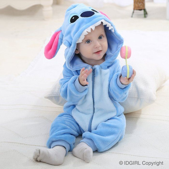7b9642743 IDGIRL Unisex-baby Winter Flannel Romper Blue-star Outfits Suit NB-3 ...