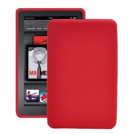 Soft Shell (Punainen) Amazon Kindle Fire Silikonisuojus