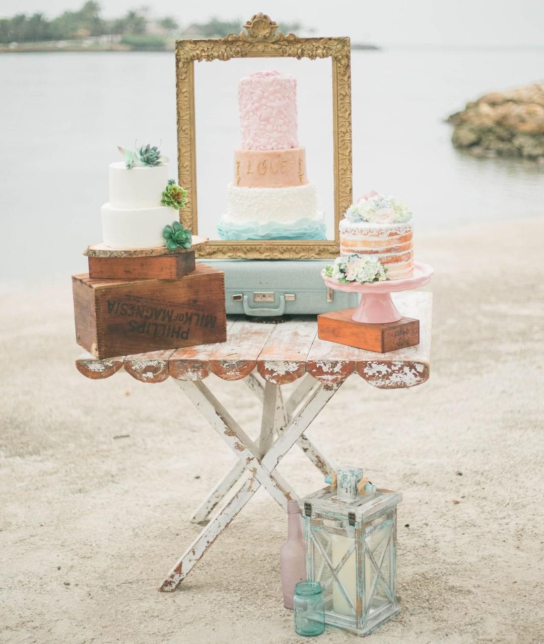 Coastal Vintage Romance Styled Shoot On Borrowed & Blue