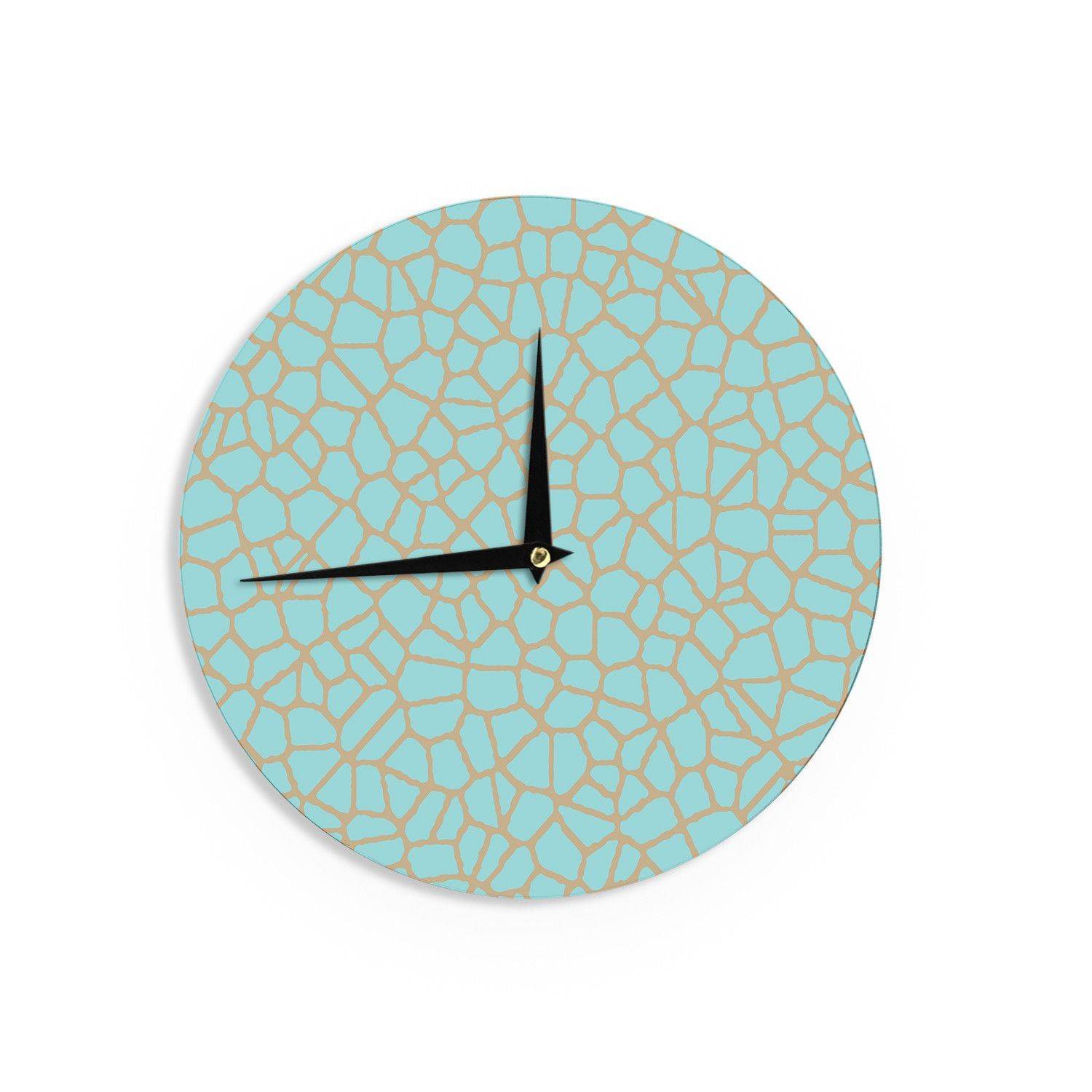 Trebam Staklo III Blue Brown Wall Clock Products Pinterest