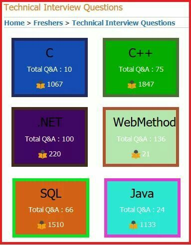 Delightful Collection Of WebMethod Interview Questions And Answers Asked At  Freshers And Experience Level In Various