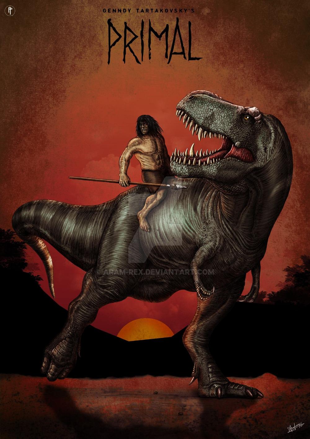 Genndy Tartakovsky S Primal A Bit More Accurate By Aram Rex On Deviantart Prehistoric Creatures Dinosaur Illustration Creatures Extinction' llegará a ps4 en la primera mitad de 2015, así que tendréis que esperar un poco. prehistoric creatures dinosaur