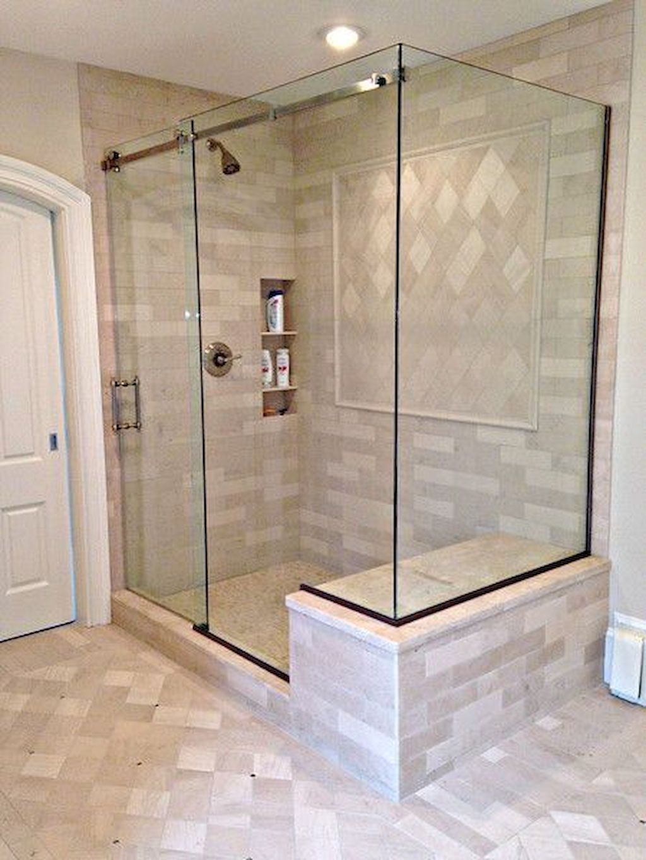 Cool 90 Insane Rustic Farmhouse Shower Tile Remodel Ideas ... on Rustic Farmhouse Bathroom Tile  id=67425