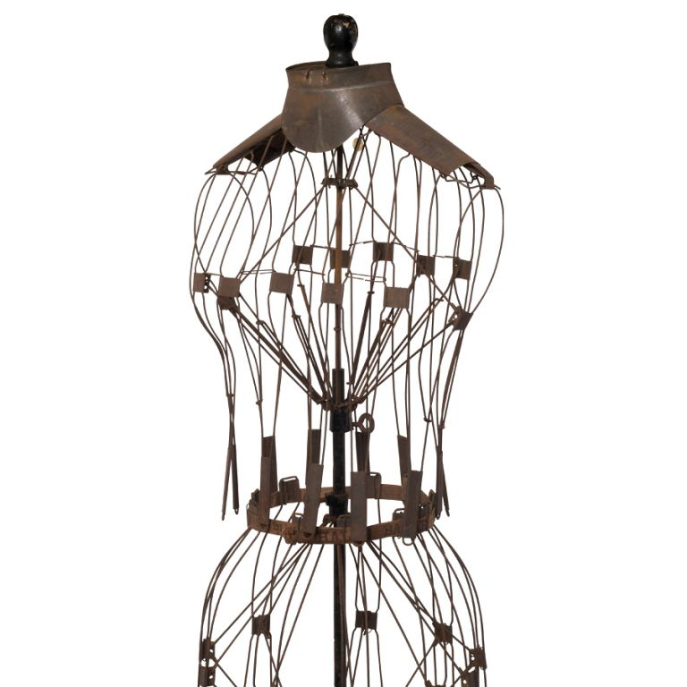 Wire Frame Mannequin Dress - WIRE Center •