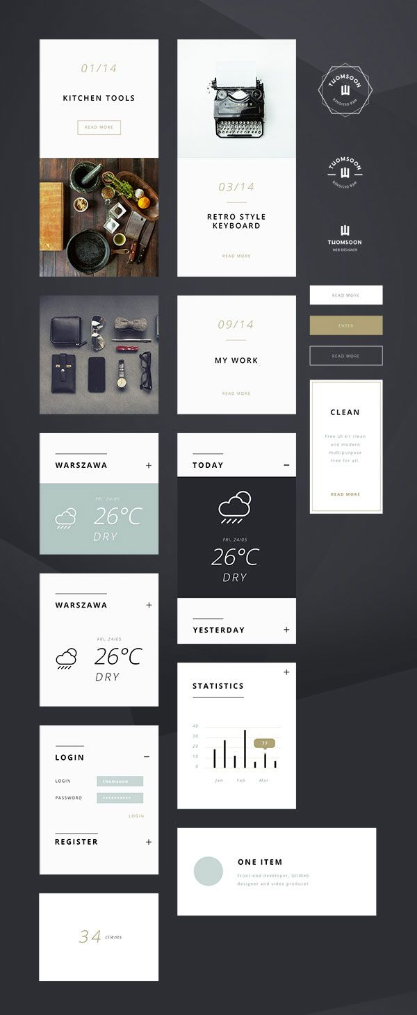 Adobe Photoshop Ui Kit For Free Download Templates Psd Vector