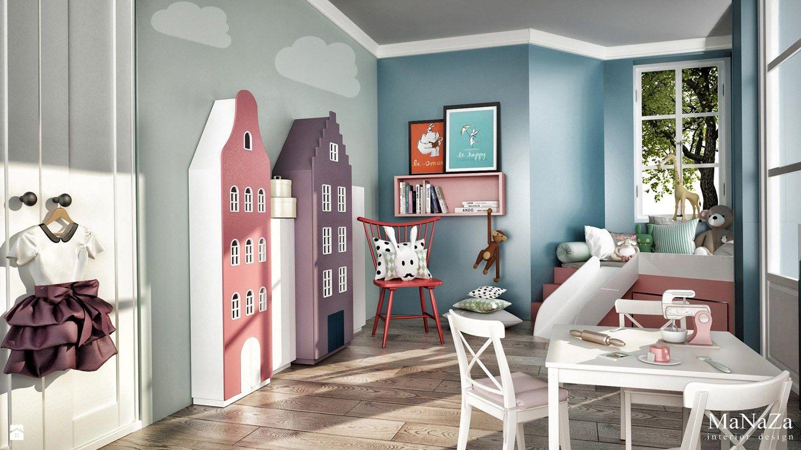 Pokój dziecka styl Skandynawski - zdjęcie od MaNaZa - Pokój dziecka - Styl Skandynawski - MaNaZa