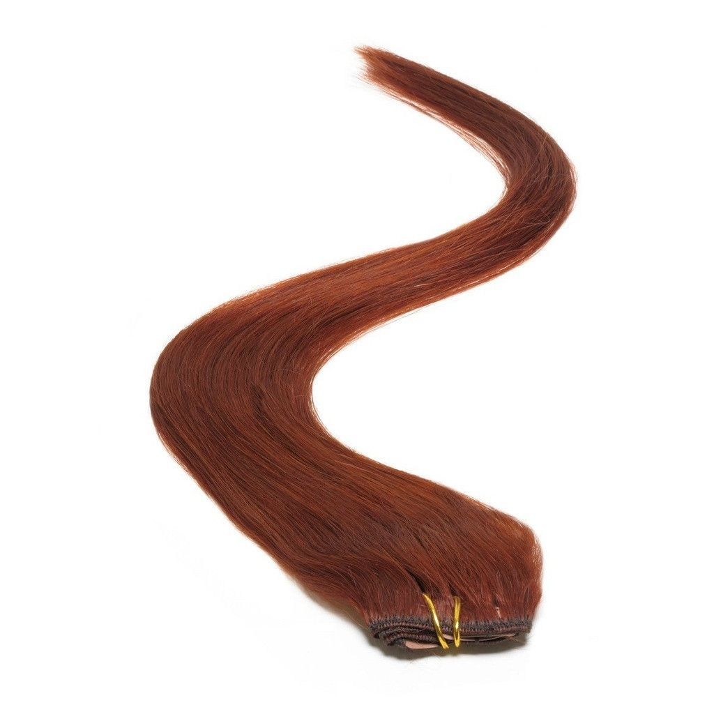 American Pride Single Weft Clip in Hair