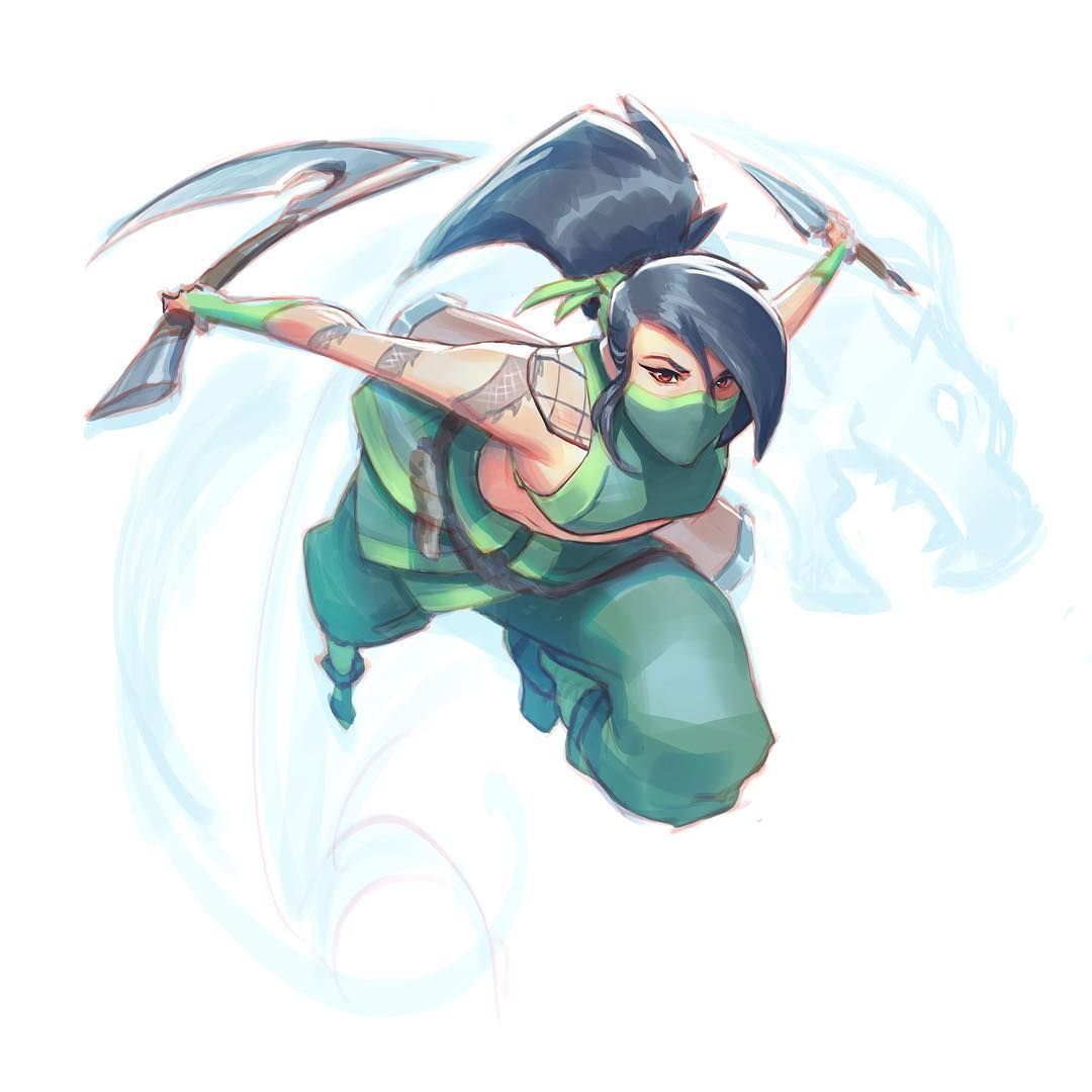 Oh she both sexy and badass her rework was the best thing she could've had. I loved the old Akali too buuuut she more badass now so I'm happy. 🤤🤤🤤