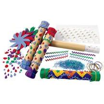 Colorations Rainstick Craft Kit For Kids Pack Of 12 Arts And