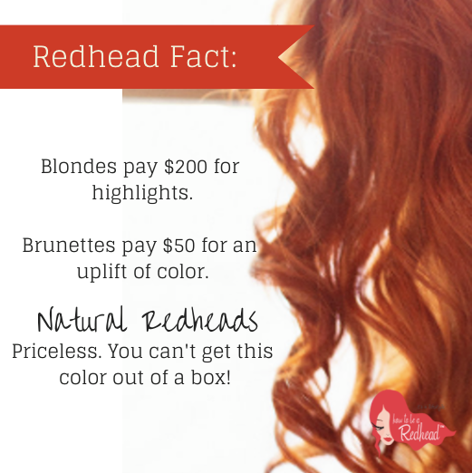Pin By Jennie Riggle On Redhaired And Proud Redhead Facts Natural Redhead Redhead