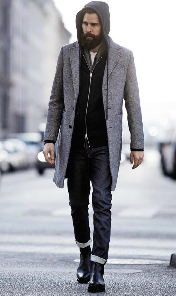 black chelsea boots mens fashion