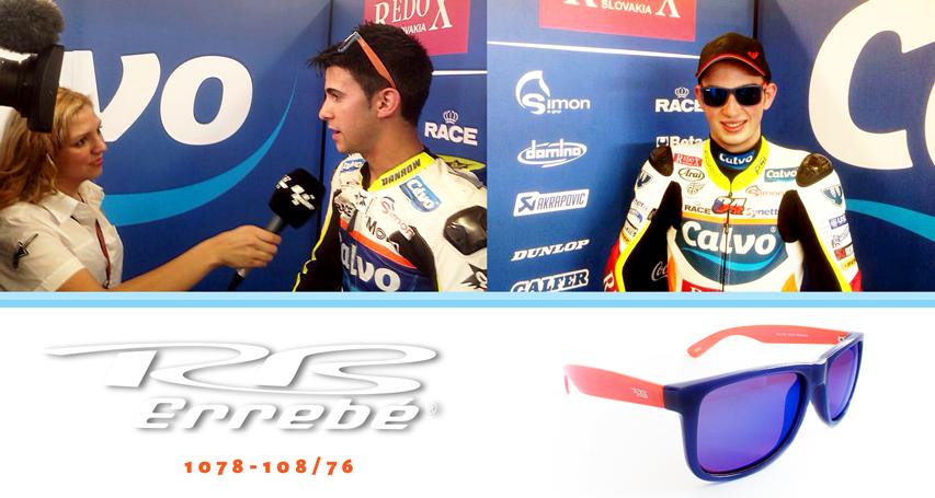 Los pilotos de la foto del equipo de Calvo team, han elegido nuestras gafas Errebé. @pablonieto22 Team Calvo Moto...