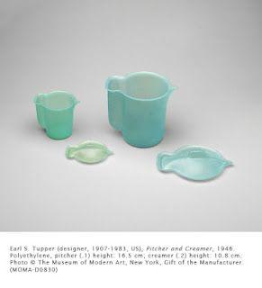 Earl Tupper (designer) - Tupperware Pitcher and Creamer