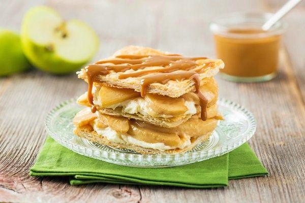 Apple Napoleons with Dulce de Leche