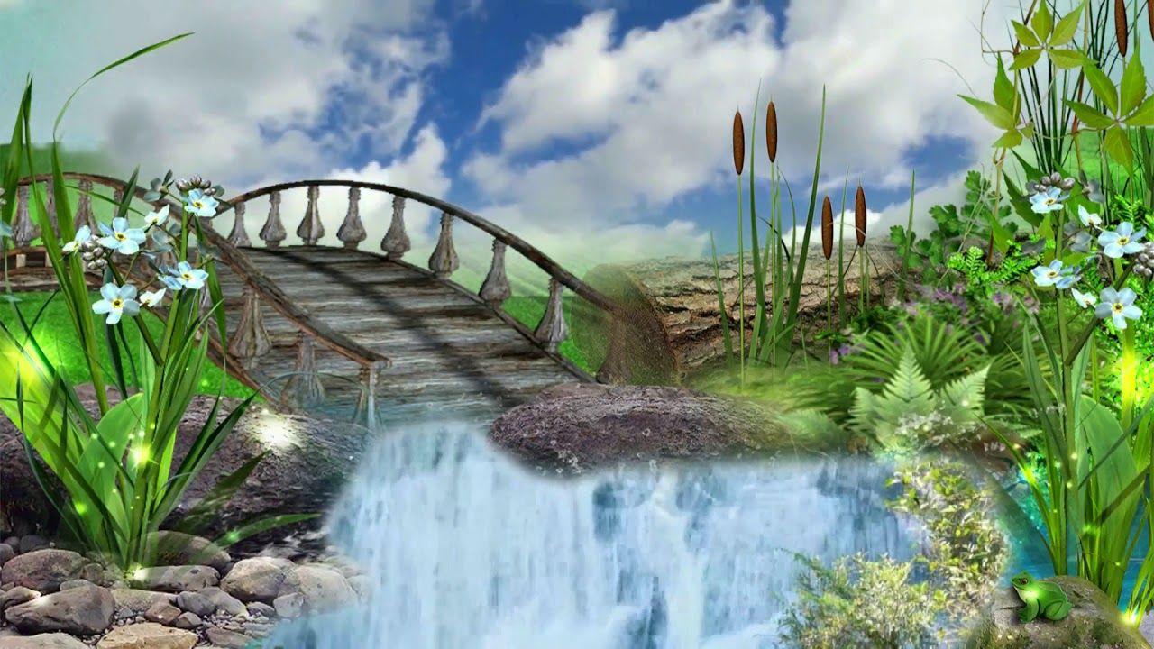 Natural Beauty Background Video Full Hd Free By Jonystarhill 1080p Smoke Animation Greenscreen Animation Background