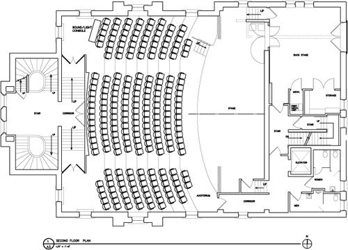 proscenium stage specs - Google Search   Stage specs ... Theatre Stage Layout