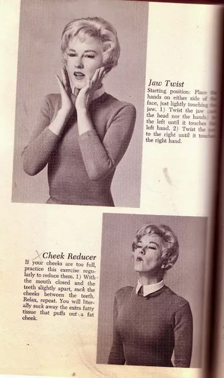 Los ejercicios de este libro de los 60 muestra lo terrible que es la industria del fitness