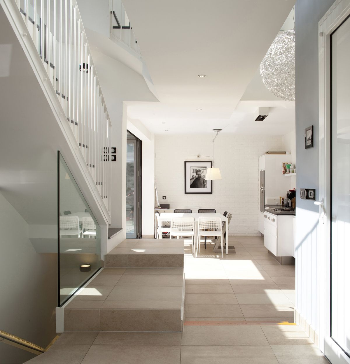 Atelier D Architecture Alexandre Dreyssé townhouse montrouge | house design, interior architecture, home