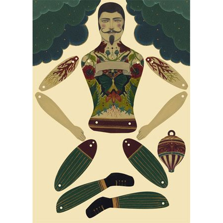 articulated paper dolls - Google Search