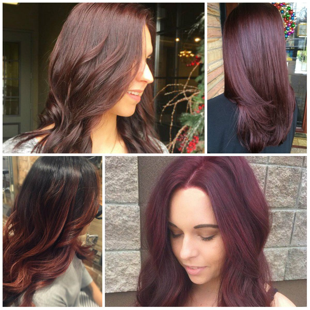 Images Of Mahogany Hair Color - Best Natural Hair Color for Grey ...