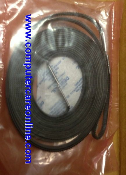 Q1253-60066 Belt : Carriage belt - Long belt attached to the carriage - for 60 inch DesignJet Plotter HP DesignJet Parts replaces HP Part # Q1253-60021 and c6095-60183 #q125360066 #carriagebelt #computercare #designjetparts #designjet5000 #designjet5500 #60inch