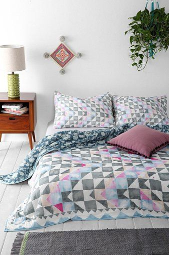Magical Thinking Watercolor Ralli Quilt - Urban Outfitters