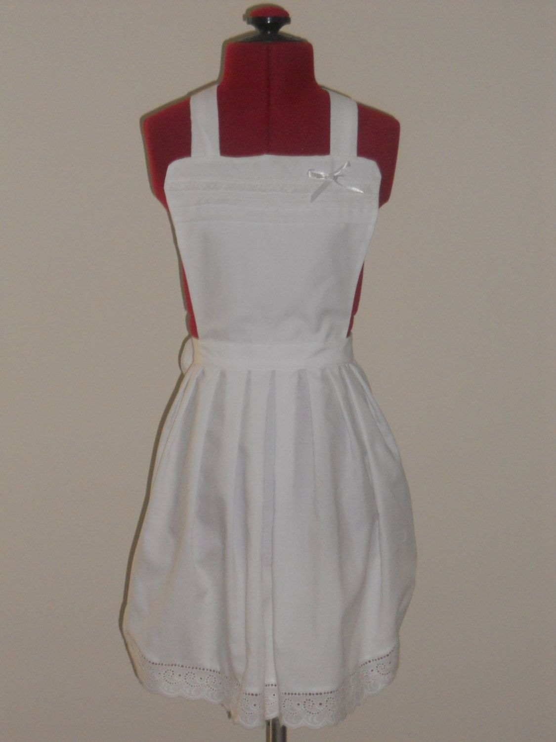 White apron in store - White Frilly Apron Google Search