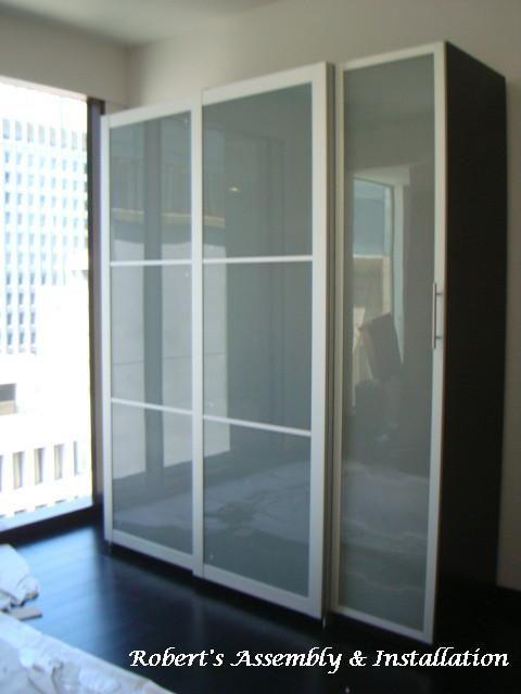 Ikea Pax Wardrobe W Sliding Doors Provided By Roberts