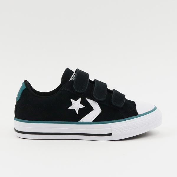 The Converse Star Player 3V OX Suede sneaker serves as a
