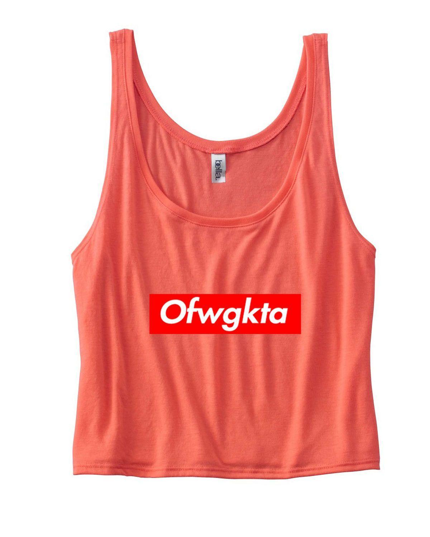 Ofwgkta Flowy Boxy Tank Top