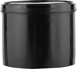 5 Lb Black Plastic Straight Wall Ink Can With Lid These Plastic Cans Are Durable And Are Great For Auto Wax Ink Adhesives Cle Canning Car Wax Plastic Pail