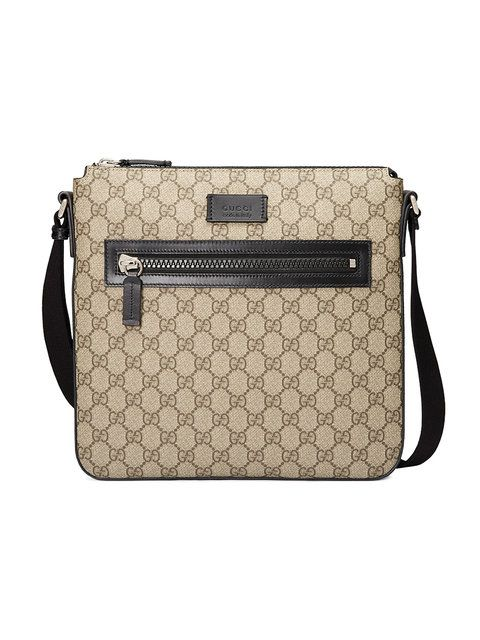 17baba18127ea6 GUCCI GG Supreme messenger. #gucci #bags #shoulder bags #lining #canvas  #nylon #suede #
