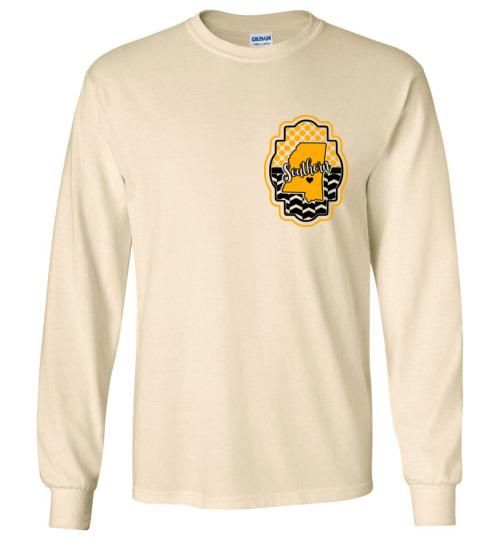 3c6dc741828 Southern Miss Golden Eagles - USM - Long Sleeve T-shirt - Available in 5  Colors - Youth and Adult up to 5XL